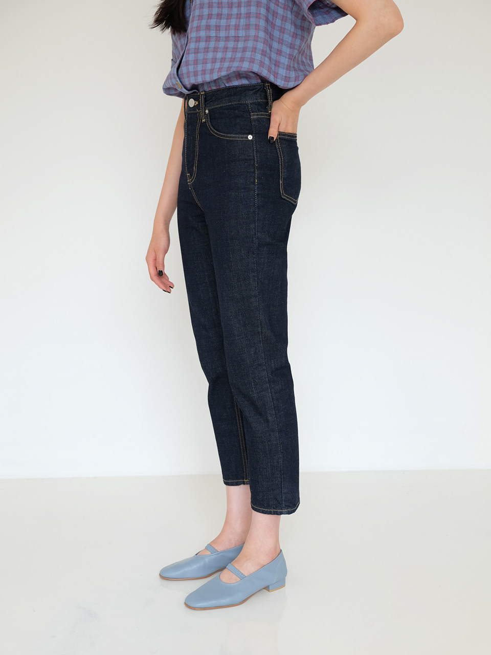 SLIM  DENIM (DARK BLUE)