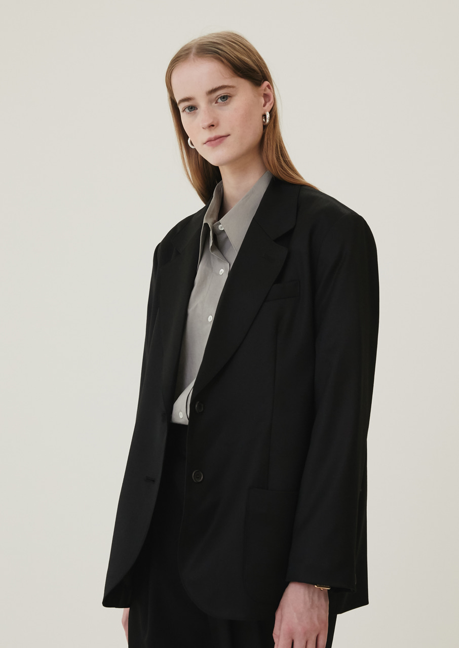 ALLEY JACKET [BLACK]