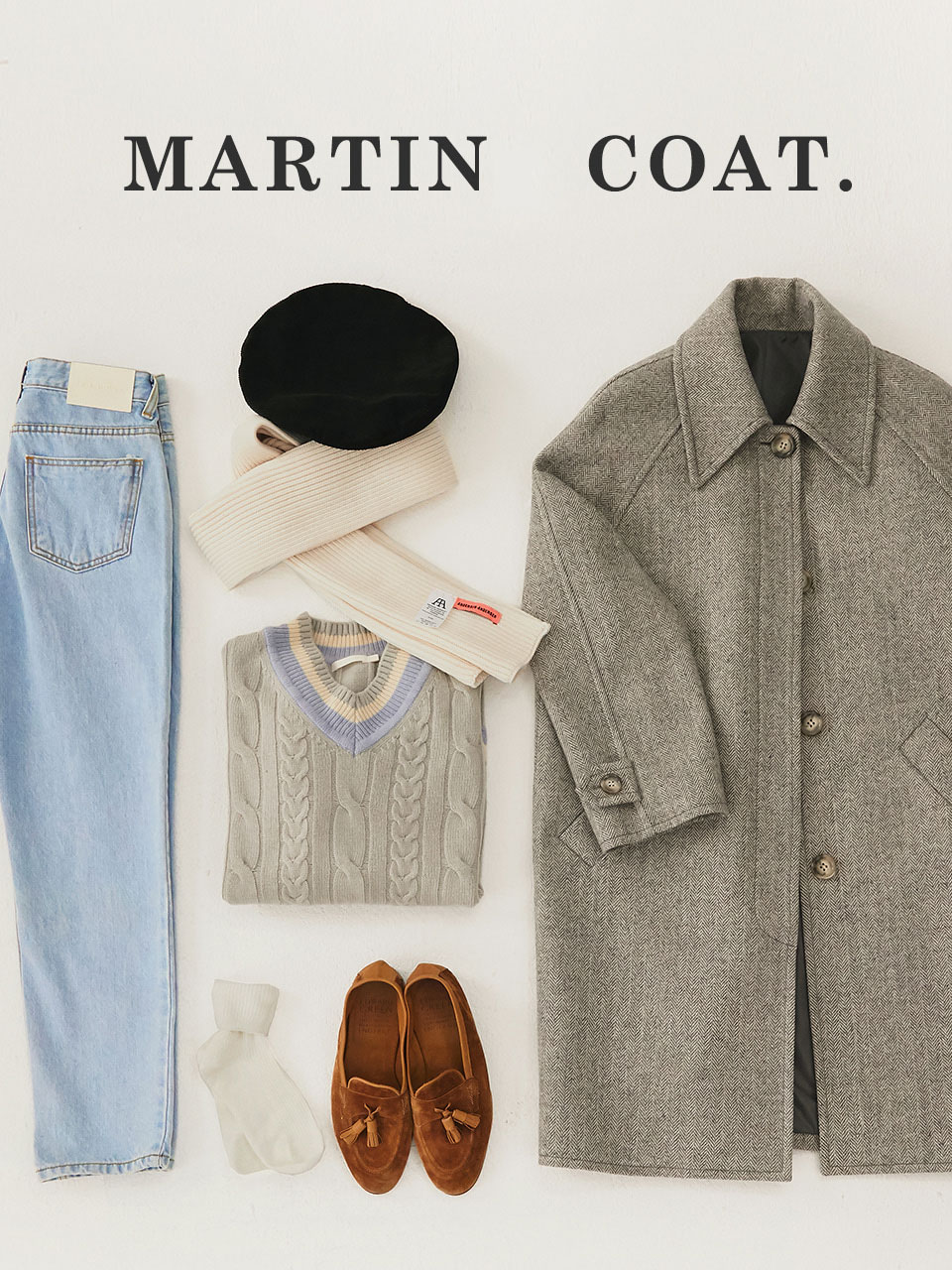 19F/W MARTIN COAT [2COLOR]