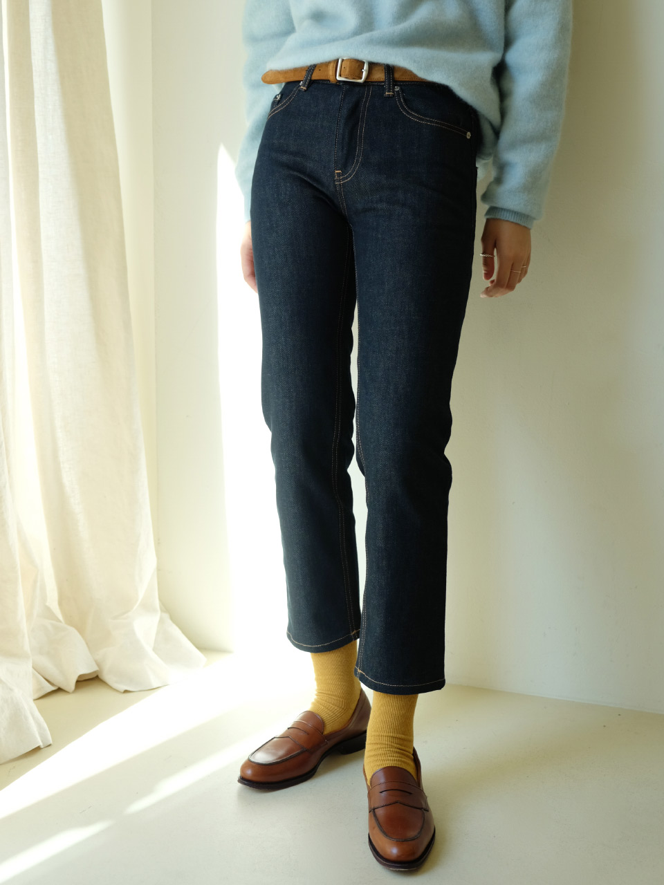 LEEVE STRAIGHT DENIM
