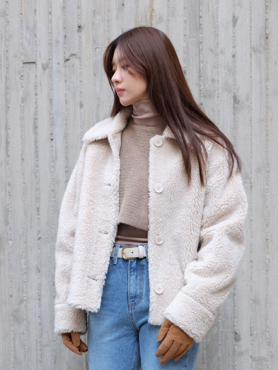 ISABEL JACKET [CREAM]