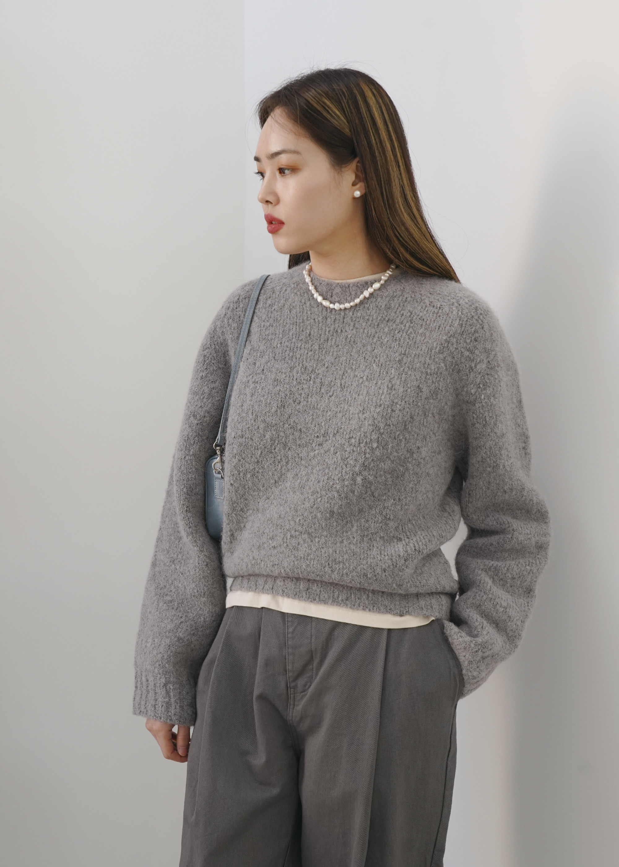 20W/T LENDY KNIT [4COLOR]  -30% OFF