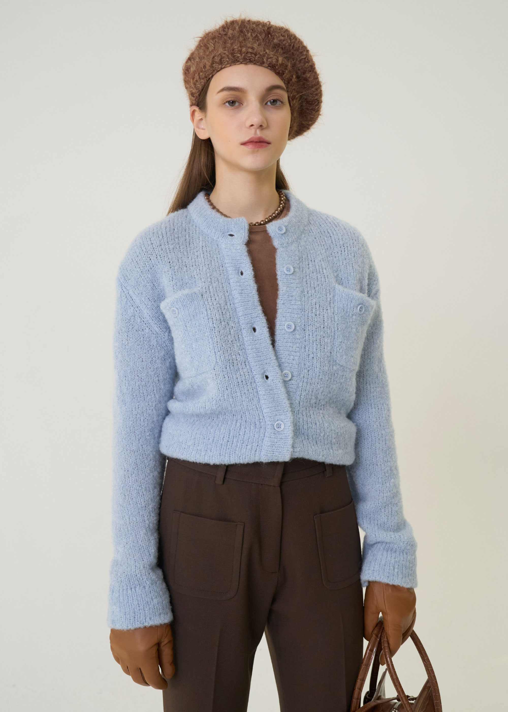 20W/T JUDY BU CARDIGAN [4COLOR]